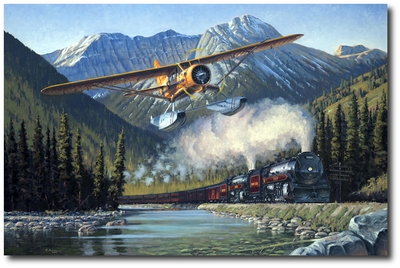 Canadian Classics by Ross Buckland (Noorduyn Norseman)