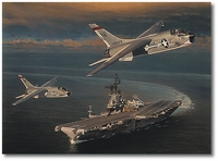 CAPing the Tico by William S. Phillips (A-7 Corsair II)