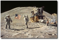 Ceremony on the Plain at Hadley by Alan Bean (Apollo)