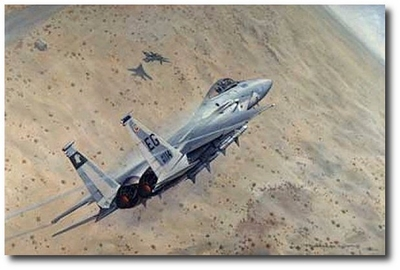 Cesar's Victory by Ronald Wong (F-15 Eagle)