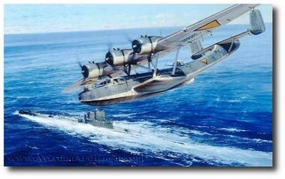 Chance Encounter by Robert Taylor (Dornier 24)