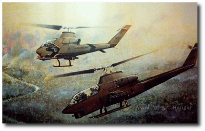Chariots of Fire by Joe Kline (AH-1G Cobra)
