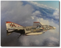 Cleared for the Overhead by Robert D. Fiacco (F-4 Phantom)
