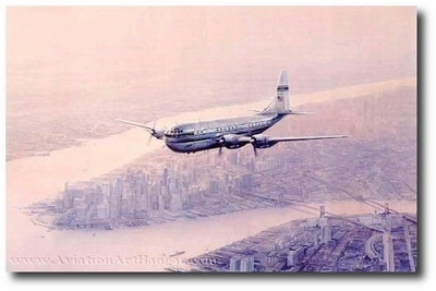 Clipper Morning Star by Robert Taylor (Boeing Stratocruiser)
