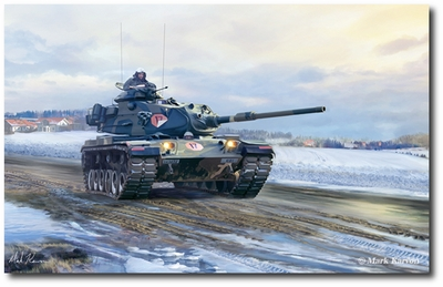 Cold War Warrior by Mark Karvon (M60 Patton Tank)