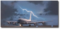 Cold Warrior by Darby Perrin (Boeing EC-135H Looking Glass)