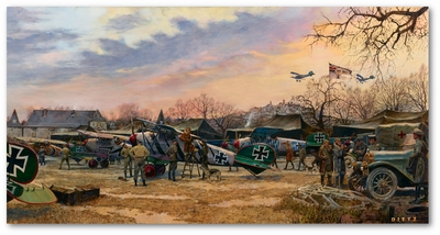 Color Guard by James Dietz (Albatros D-V)
