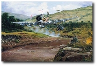 Combat Rescue by Philip West (A-1 Skyraider)
