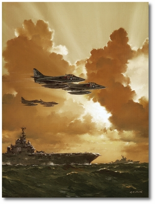 Coming Home to Roost by R.G. Smith (A-4C Skyhawk)