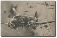 D-Day Drop - 'Stick 21' by Robert Taylor (C-47 Dakota)
