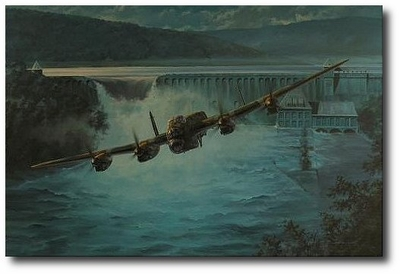 Dambusters by Anthony Saunders (Lancaster)