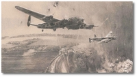 Dambusters - 'Goner 58A' by Robert Taylor (Lancaster)