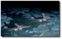 Dancing in the Dark by Keith Ferris (KC-135)