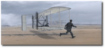 Dawn of Flight by Thomas Smith (Wright Flyer)