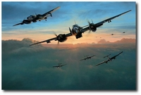 Dawn Strike by Richard Taylor (Bf110)