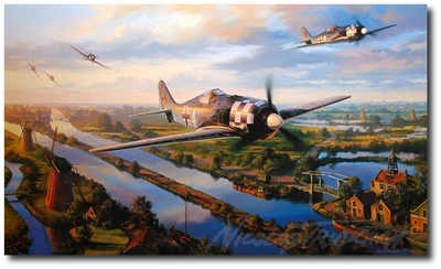 Day of the Fighters by Nicolas Trudgian (Fw190)