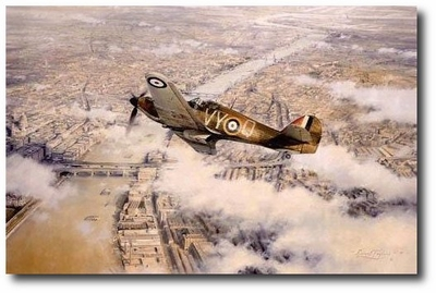 Defence of the Realm by Robert Taylor (Hawker Hurricane)
