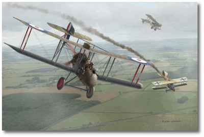DH-2 - Oliver vs. Kirmaier by Jim Laurier
