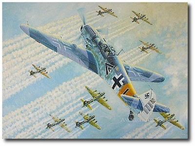 Dicke Autos! by Troy White (Bf109)