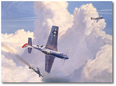 Don Bryan's Big Day by Jim Laurier (P-51 Mustang)