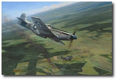 Dual Victory by Richard Taylor (P-51 Mustang)