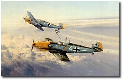 Eagle Attack by Robert Taylor (Me109)