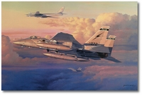 Eagle Intercept by Philip West (F-15)