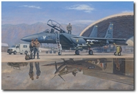 Eagle Legacy by Ronald Wong (F-15E Strike Eagle)