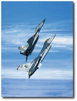 Eagle's Talon '97 by K. Price Randel (F-16 / MiG-29)