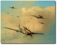Eagles on the Rampage by Robert Taylor (P-51 Mustang)
