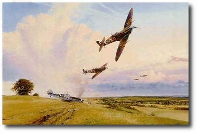 Eagles Prey by Robert Taylor (Spitfire)