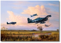 Easy Kill Over Luzon by Jim Laurier (F6F Hellcat)