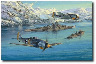 Eismeer Patrol by Anthony Saunders (Fw-109)