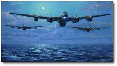 Enemy Coast Ahead – The Dambusters by Philip West (Lancaster)