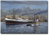 Evening Departure by John Hume