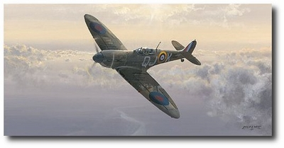 Evening Glory by Philip West (Spitfire)