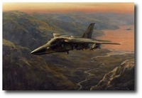 Evening in the Highlands by Ronald Wong (F-111 Aardvark)