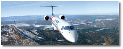 ExpressJet by Larry McManus (Embraer ERJ-145)