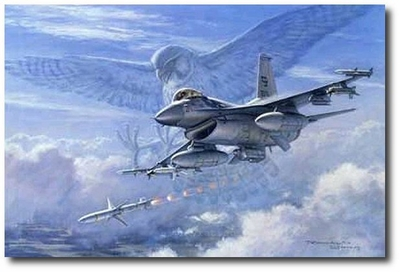Falcon Attack by Ronald Wong (F-16)