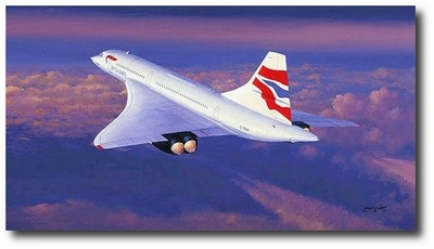 Farewell Concorde by Philip West