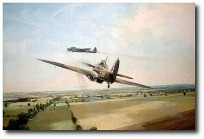 Fastest Victory by Robert Taylor (Hawker Hurricane)