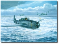 Final Approach to Home by Tom Freeman (TBF Avenger)