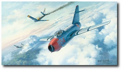 Final Victories by Roy Grinnell (MiG-15)