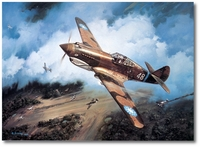 First Blood by Roy Grinnell (P-40)