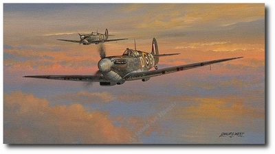 Fleeting Moments by Philip West (Spitfire)