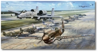 Flying Tiger Legacy by John Shaw (P-40, A-10)