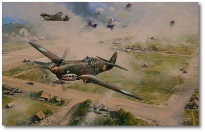 Flying Tigers - The Stuff of Legend by Robert Taylor (P-40 Warhawk)