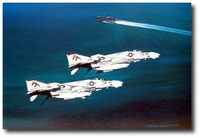 Forrestal's Phantoms by Marc Stewart (F-4 Phantom)