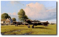 Front Line Hurricanes by Robert Taylor