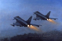 Gathering Momentum by Ronald Wong (Eurofighter Typhoon)